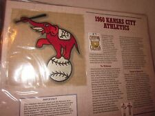1960 KANSAS CITY ATHLETICS COOPERSTOWN COLLECTION TEAM PATCH Willabee & Ward