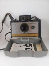 Vintage Polaroid 215 Land Camera, Strap, Cold Clip #193, Flash- Untested