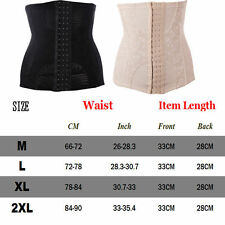 Women Latex Body Suit Shaper Waist Training Cincher Underbust Corset Shapewear #
