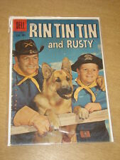 RIN TIN TIN AND RUSTY #31 VG- (3.5) DELL COMICS AUGUST 1959