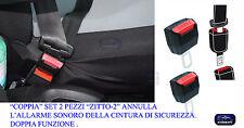 Beep-Stop Cintura di Sicurezza auto 2 Pz.  Annulla Allarme Sonoro