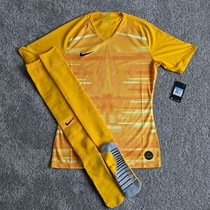 Nike Promo Player Issue SS Gk Goalkeeper Soccer Jersey Socks Kit sz M AQ5325-739