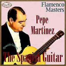 PEPE MARTINEZ CD Spanish Guitar / Spain Guitar Baile Flamenco Guitarra Master
