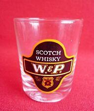 W&P Scotch Whisky Shot Glass