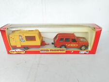 Majorette 3040 SERIES  PINDER CIRCUS ROVER WITH CARAVAN PINDER NEAR Mint Box !