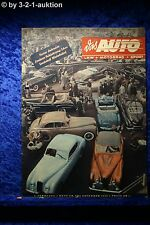 """G"" Das Auto AMS 21/50 Ford Taunus 6-Sitzer Nash Healey Salon Paris"