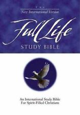 NIV Full Life Study Bible by  , Hardcover