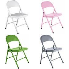Habitat Macadam Metal Folding Chair - Choice of Colour.