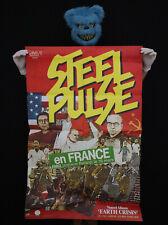 STEEL PULSE -  Affiche concert Paris Balard - 1984 - Poster 118 x 78 cm