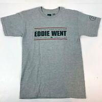 Quiksilver in Memory of Eddie Aikau Shirt Mens S Hawaii Hawaiian Surf Graphic