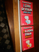 2 LIBRI:1. L'era di Stalin 1945/1952 E 2.IL DOPO STALIN  1953/1971  Fejto