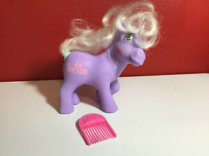 Vintage My Little Pony G1 Happy Tails Romper MLP w/ Comb