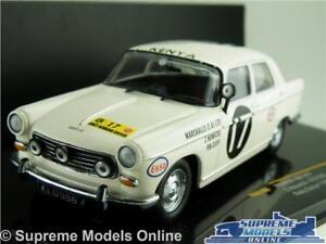 PEUGEOT 404 RALLY CAR MODEL 1968 1:43 SIZE IXO RAC100 SAFARI NOWICKI CLIFF T34Z