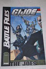 2002 Image GI Joe Battle Files  #1, 2, 3 COMPLETE series