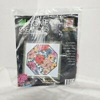 Home Creations  Alice Peterson   FLORAL CROSS STITCH KIT #8097 Flower Lilies
