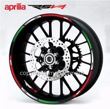 aprilia Racing RSV4 wheel decals rsv stickers rim stripes Factory Laminated