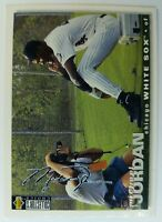 1994 94 COLL CHOICE Michael Jordan RC Rookie #500, Baseball Silver Signature