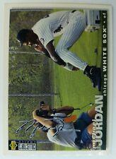 1994 94 COLL CHOICE Michael Jordan RC Rookie #500, Baseball Silver Signature
