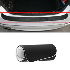 Vehicle Car Sticker Rear Bumper Trunk Protector Scraper Self-adhesive PVC Decor