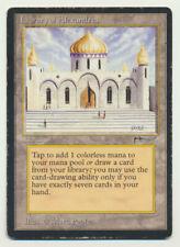 MTG Magic the Gathering Arabian Nights Library of Alexandria MP Moderate Play! A