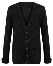Markenlose Normalgröße Damen-Pullover & -Strickware mit Knöpfen