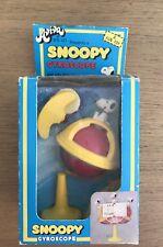 Vintage Aviva Snoopy Gyroscope Charlie Brown Peanuts