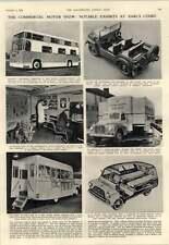 1952 Mobile Butchers Mobile Garage Bedford Dormobile