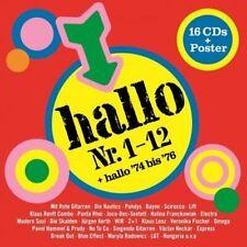 VARIOUS - Hallo Die 16 CD - Box - CD Sechzehn