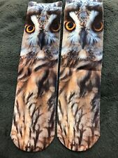 LADIES BROWN OWL SOCKS BN