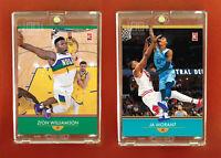 Zion Williamson - Ja Morant | 2 card set | Generation Next
