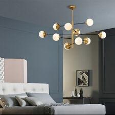 Modern Glass Bubble Ball Pendant Light Industrial Beans Ceiling Lamp