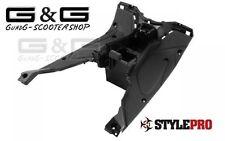 Trittbrett Verkleidung Innenraum Fußraum in Schwarz für Yamaha Aerox MBK Nitro