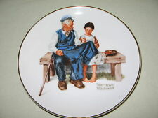1984 Norman Rockwell The Lighthouse Keeper'S Daughter Collector Plate