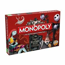 Nightmare Before Christmas MONOPOLY Family Board Game