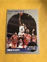 💥Sam Vincent 1990 Hoops Shows Michael Jordan #12 Jersey #223 Brand New Card💥
