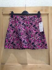 Cotton A-line Party Floral Skirts for Women