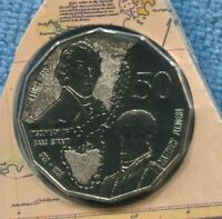 1998 Bass Flinders Discover Bass Strait 50 Fifty Cent UNC Uncirculated ex Mint