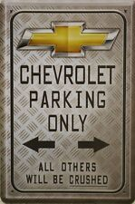 Chevrolet Parking Only 20x30