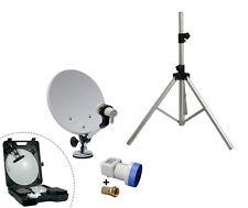 Trépied pour support parabole idéal pour camping car + antenne satellite mobile