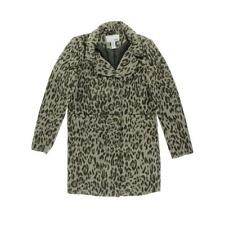 Bar III 0010 Womens Multi Wool Blend Animal Print Basic Coat Outerwear XL BHFO