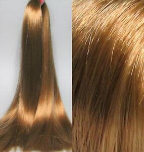 STRAWBERRY COPPER Auburn Blonde Saran Doll Hair for Custom Reroots