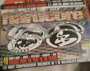 "suburban base & moving shadow ""history of hardcore"" rave cassette tape kenny ken"