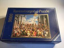 Ravensburger 9000 Piece Puzzle Wedding Feast at Cana Paolo Veronese - RARE
