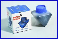 "MONTBLANC Tinte Nr 3 "" Füllhalter Tinte "" Blau / Dreiecksform - 1960's  Inkpot"