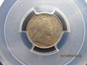 Canada, 1902H Ten Cent Silver PCGS AU-58