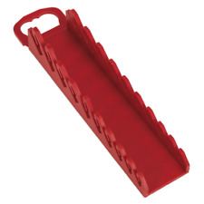 WR10 Sealey Spanner Rack Capacity 10 Stubby Spanners Tool Storage Racks & Stands
