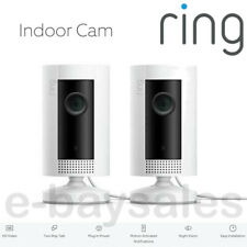 2 X RING SMART INDOOR HD CAMERAS WIFI ALEXA HOME HOUSE BABY OFFICE SECURITY CAM