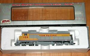 ATLAS 8023 MASTER SILVER GE B23-7 UNION PACIFIC UP 106 DCC