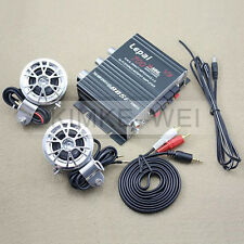 700W Mini Hi-Fi Stereo Amplifier Amp mp3 iPod Motorcycle 12V