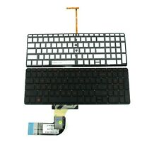 New Keyboard Red Backlit for HP Pavilion Beats 15-p000 15-p008au 15-p030nr US